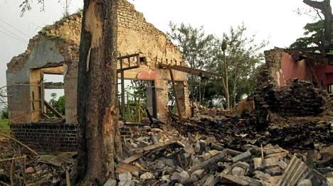 Kongossa tapahtuneessa asesäiliön räjähdyksessä sai surmansa yli 20 ihmistä.