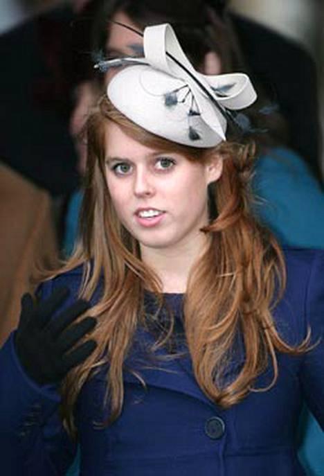 Prinsessa Beatrice on Yorkin herttuattaren Sarha Fergusonin tytär.