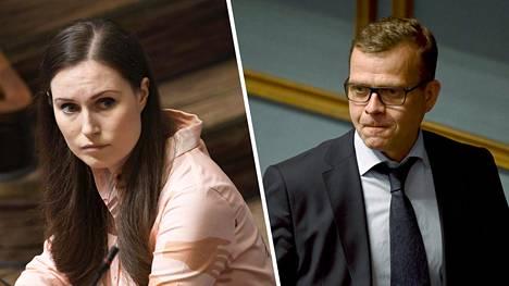 Pääministeri Sanna Marin (sd) vastaa Twitterissä kokoomuksen Petteri Orpon esittämään kritiikkiin hallituksen koronalinjasta.