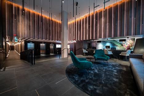 Hotelli sijaitsee Tallinnan keskustassa.