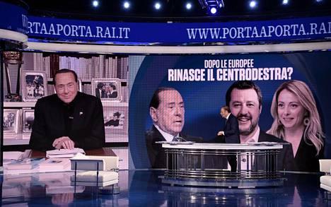 Italiassa myös Silvio Berlusconi on pitkän tauon jälkeen ehdolla poliittiseen virkaan.