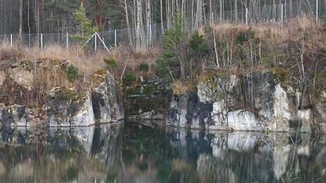 Montolan avolouhos on entinen kalkkikaivos.