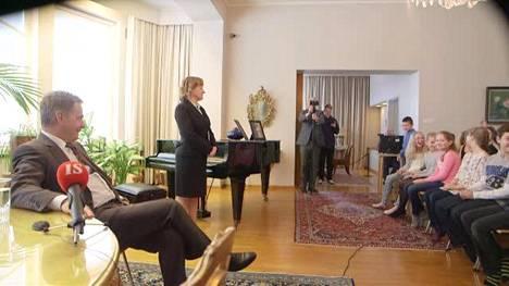 Lapset kysyvät - presidentti Niinistö vastaa!