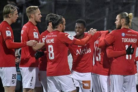 HIFK sijoittui päättyvällä kaudella Veikkausliigassa kahdeksanneksi.