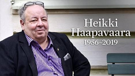 Heikki Haapavaara oli kuollessaan 63-vuotias.