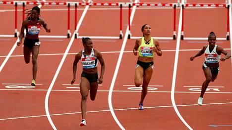 Danielle Williams voitti pika-aidat ylivoimaisesti Lontoossa.