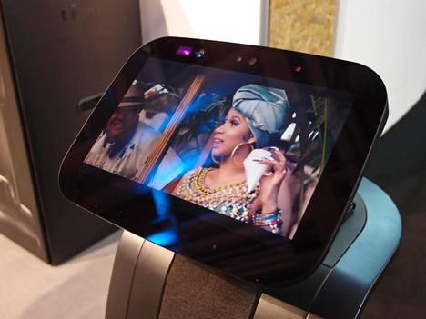 Temi-robotti on tarkoitettu pääasiassa viihdyttämiseen ja yhteydenpitoon.