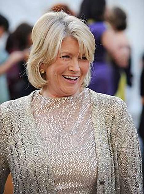 Television virallinen kotirouva Martha Stewart oli myös paikalla oopperassa.