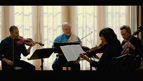 A Late Quartet -elokuva tuli ensi-iltaan Suomessa joulukuussa.