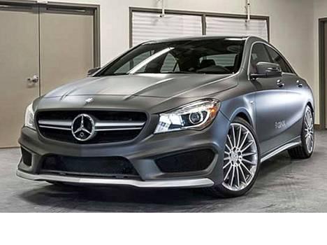 QNX:n aiempi Mercedes-esittelyauto.