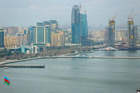 Onko se Baku? Suomi saattaa pelata kisaotteluita ensi kesänä Azerbaidzhanin pääkaupungissa.