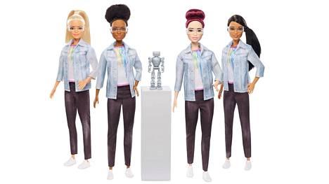 Barbiet seikkailevat nyt robotiikkainsinöörinä.
