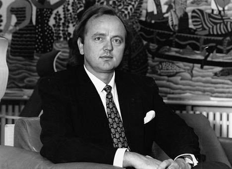 Sijoittaja ja liikemies Pentti Kouri vuonna 1989.