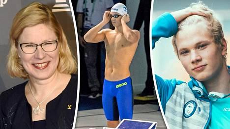 Hiihtolegenda Marjo Matikainen-Kallströmin Roni-pojasta, 17, on kuoriutumassa maailmanluokan urheilija