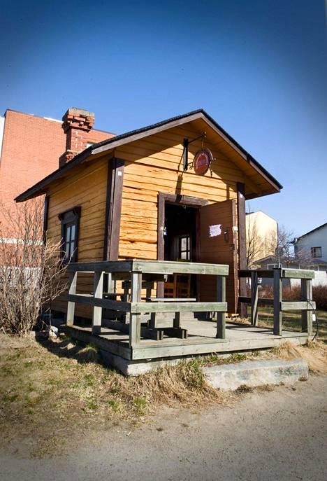 Kuappi on maailman pienin ravintola.