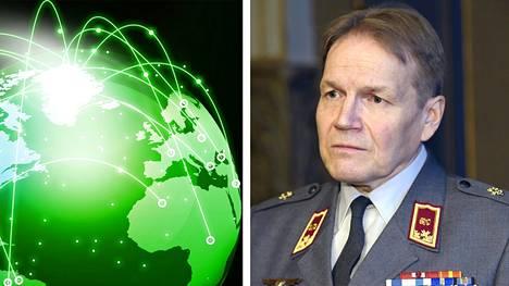 Kun tiedustelulaki astuu voimaan, se jakautuu Suomessa tehtävään siviilitiedusteluun ja ulkomaille kohdennettavaan sotilastiedusteluun. –Pureudumme teknisiin tietoihin ja ohjauskomentoihin ja keskitymme siihen, mikä on kohteen käyttäytyminen verkoissa, puolustusvoimien tiedustelupäällikkö Harri Ohra-aho kertoi IS:lle.