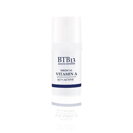 BTB13 Medical Vitamin A 0,5% Active -voide on hyvä startti retinolin käyttöön, 32 € / 15 ml.