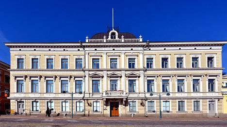 Korkein oikeus Pohjoisesplanadilla Helsingissä.
