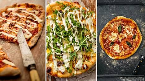 Kuvat aiemman Pizzamestari -kisan kilpailutöistä.
