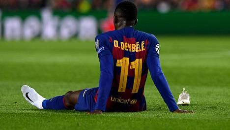 Ousman Dembele loukkaantui alkujaan 27. marraskuuta europelissä Dortmundia vastaan.
