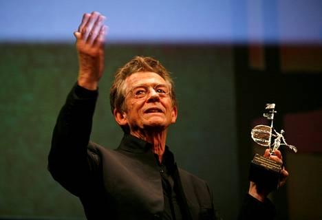 Näyttelijä palkittiin Gold Giraldillo -palkinnolla vuonna 2009.