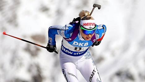 Mari Laukkanen onnistui Norjassa.