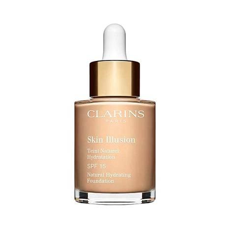 Clarins Skin Illusion SPF 15 Natural Hydrating Foundation -meikkivoide, 41,95 €, mm. Eleven.
