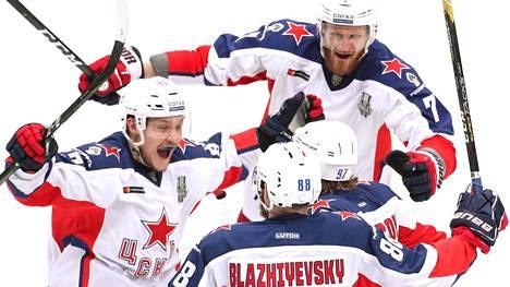 Moskovan TsSKA on KHL:n mestari.