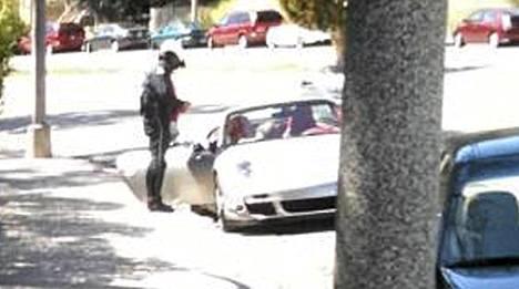 Arnold Schwarzenegger oli liikkeellä Porschella, kun poliisi pysäytti.