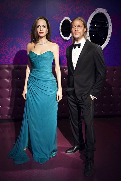 Angelina Jolien ja Brad Pittin vahanuket