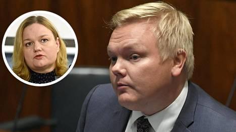 """Antti Kurvinen kaipaa Krista Kiurulta ja sosiaali- ja terveysministeriöltä """"selkiytystä"""" maskiviestinnästä."""