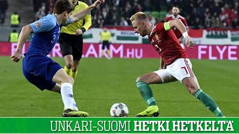 Huuhkajat hävisi Unkarille – IS seurasi Kansojen liigan ottelua hetki hetkeltä