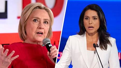 Hillary Clinton syyttää Tulsi Gabbardia Venäjän kätyriksi.
