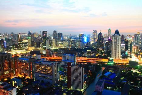 Bangkokissa vieraili viime vuonna 20.5 miljoonaa matkailijaa.