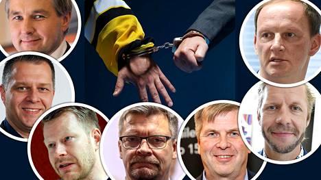 15 joukkueen suljettua SM-liigaa kommentoi joukko suomalaisen jääkiekon vaikuttajia.