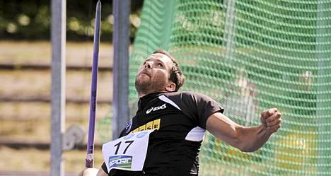 Tero Pitkämäki pohtii uransa jatkoa.