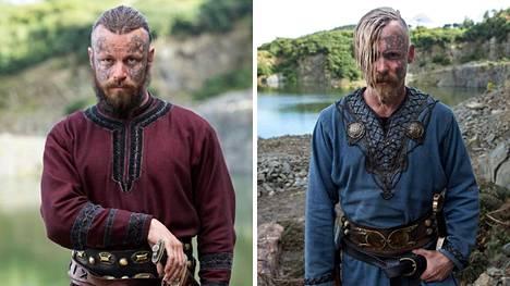 Peter Franzén ja Jasper Pääkkönen nähdään HBO:n Vikings-sarjassa.