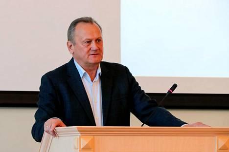 Viipurin piirihallinnon johtaja Gennadi Orlov istuu parhaillaan kotiarestissa, joka kestää ainakin marraskuun 12. päivään saakka.