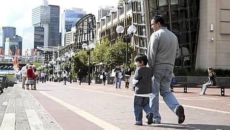 Sydneyssä on lapsiperheille paljon tekemistä.