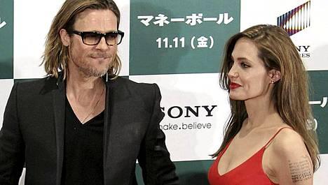 Angelina Joliella ja Brad Pittilä on kuusi lasta.