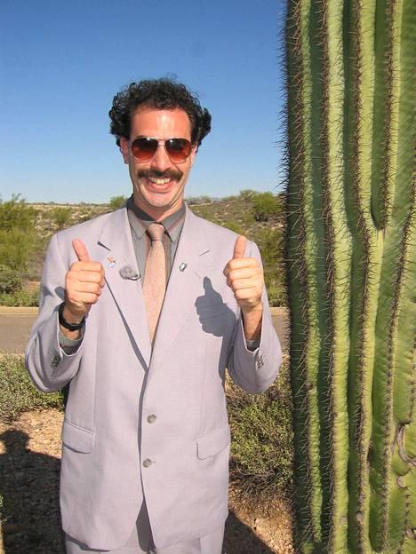 Borat on Sacha Baron Cohenin luoma fiktiivinen toimittaja.