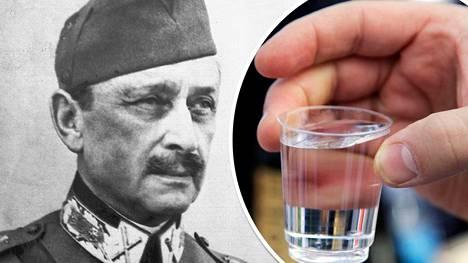 Marsalkka Carl Gustaf Emil Mannerheim lääkitsi epävarmuuttaan alkoholiryypyillä, arvioi sotahistorian emeritusprofessori Martti Turtola uudessa kirjassaan.