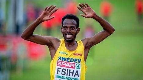 Robel Fsiha voitti yllättäen maastojuoksun EM-kultaa joulukuussa 2019.