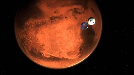Nasa julkaisi hahmotelman luotaimen laskusta Marsiin.