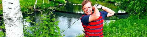 Pekka Räsänen on ollut mukana Keskiyön Golfissa kymmenkunta kertaa.