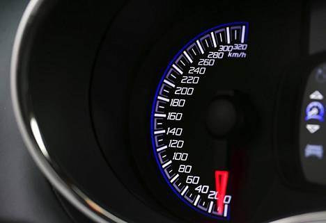 Nopeusmittari yltää kovin ylös, eikä tämä ole liioittelua. Mahti-Inkkarin huippunopeus on 290 km/h.