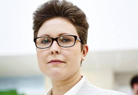 Turun yliopiston politiikan tutkija Jenni Karimäki.
