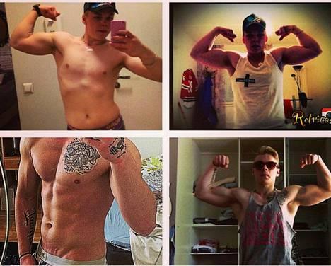 Janne Siponen aloitti treenaamisen teini-iässä. Nyt hän on liikunta- ja hyvinvointialalla töissä.