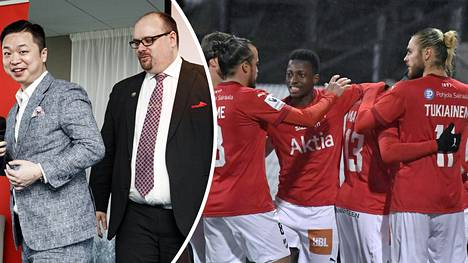 HIFK etsii uutta rahoitusta, jotta se voisi irtautua Lucas Chang Jinin (vas.) omistuksesta.