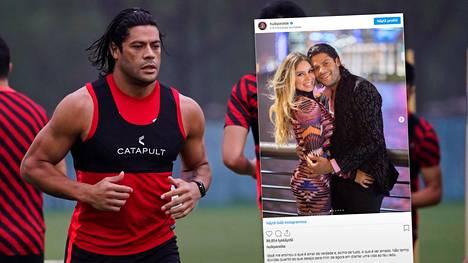 Jalkapallotähti Hulk on nykyään naimisissa ex-vaimonsa siskontytön kanssa.